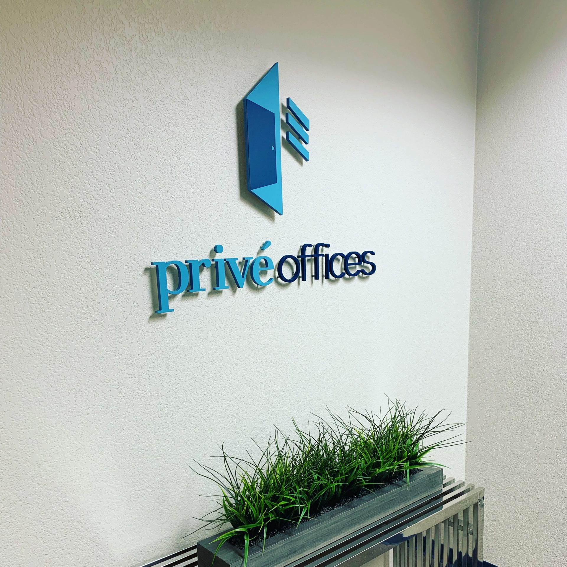 Suite Entrance at at Privé Offices