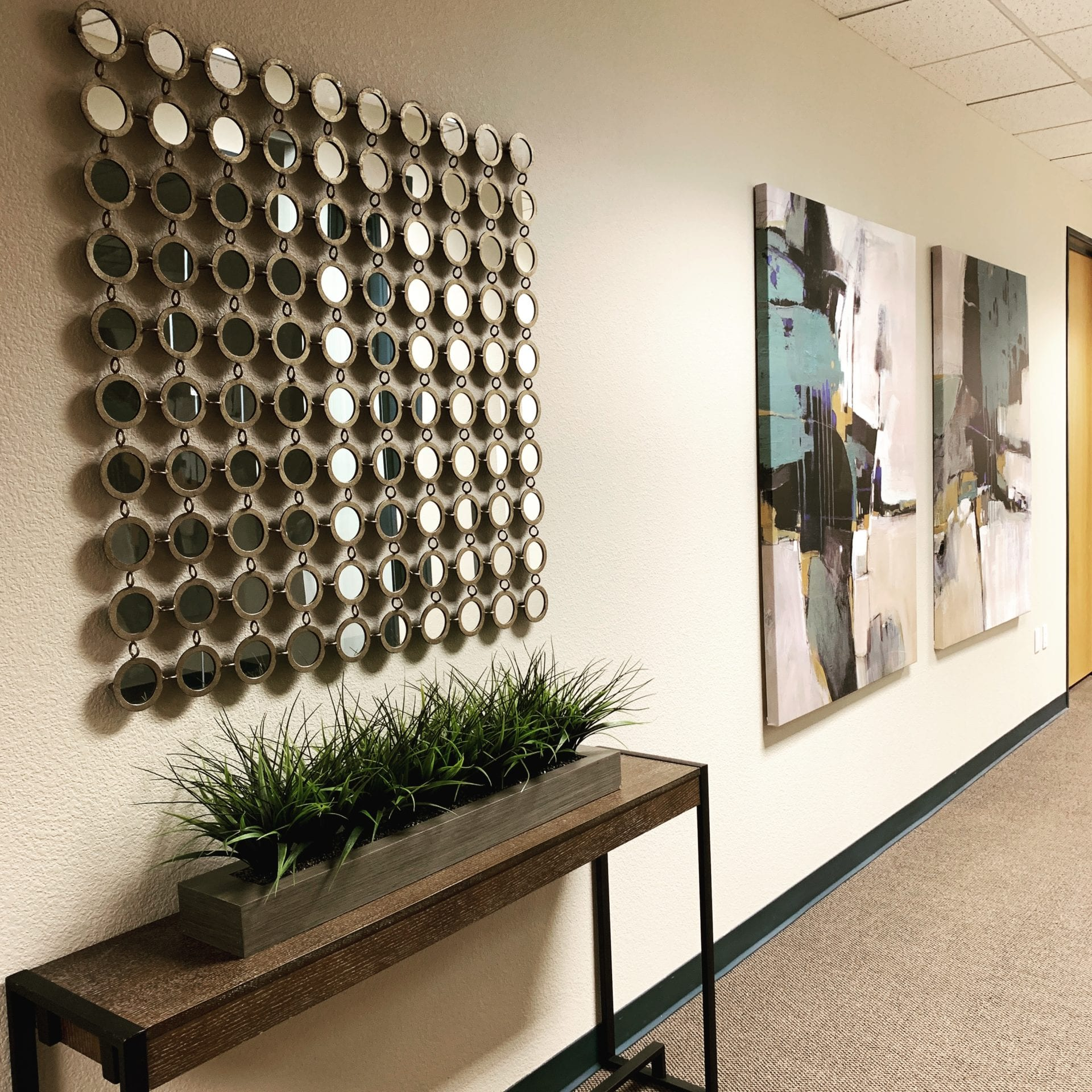 Prive Offices Hallway
