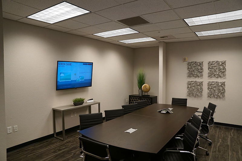 A conference room at Privé Offices